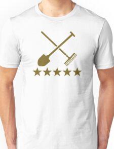 Shovel rake stars Unisex T-Shirt