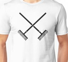 Crossed rakes Unisex T-Shirt