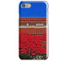 Tile Roof And Bougainvellea iPhone Case/Skin