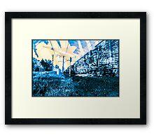 Temporal spatial parallels Framed Print