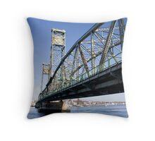World War Memorial Bridge Throw Pillow