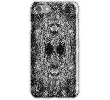 Forest Disaster BW iPhone Case/Skin