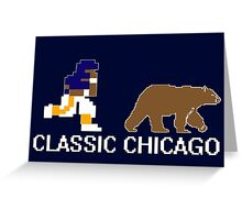 Classic Chicago Greeting Card