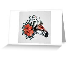 Untamed Greeting Card