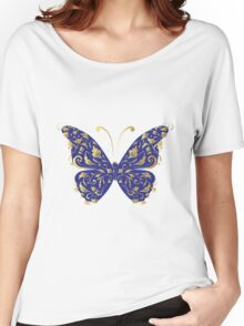 Butterfly, ornate Women's Relaxed Fit T-Shirt