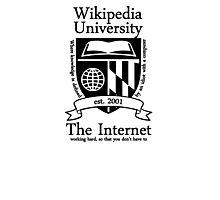 Wikipedia University Photographic Print
