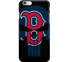 Boston Redsox Skull iPhone Case/Skin