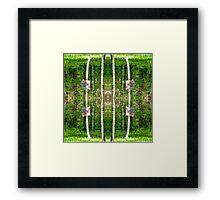 Basketball Forest Court Reflection 2 Framed Print
