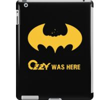 Ozzy was here iPad Case/Skin