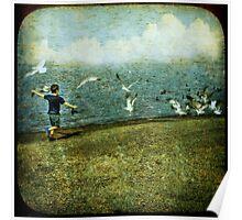 Flyaway Bird Poster