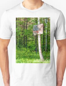 Basketball Forest Court Unisex T-Shirt