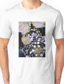 Bouquet of White roses 3 Unisex T-Shirt