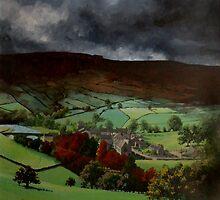 Pennine Landscape by Mike Glaysher