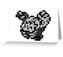 Pokemon 8-Bit Pixel Graveler 075 Greeting Card
