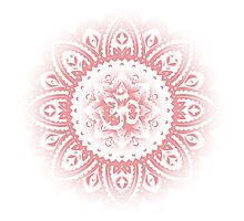 Ohm Mandala Pink Photographic Print