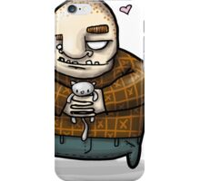 the beast and the kitten iPhone Case/Skin