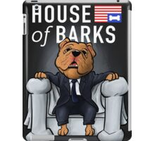 House of Barks bulldog cartoon iPad Case/Skin
