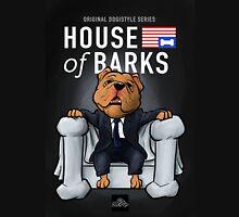 House of Barks bulldog cartoon Unisex T-Shirt