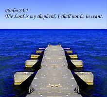 Psalm 23:1 by Dmarie Frankulin