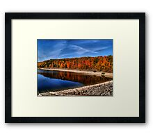 Autumn in Canada Framed Print