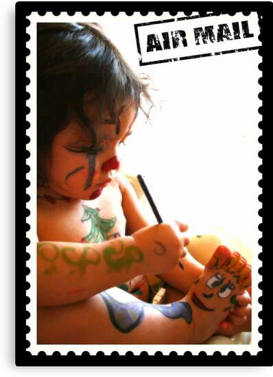 Cutie Mail Stamp by Ghelly