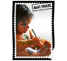 Cutie Mail Stamp Poster