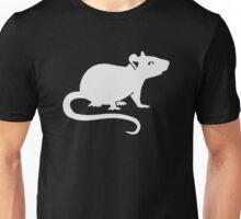 White rat Unisex T-Shirt