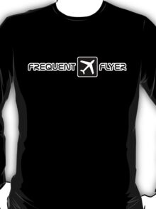 black frequent flyer T-Shirt