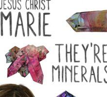 Jesus Christ Marie! Sticker