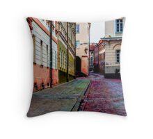 Cozy Old Town Throw Pillow