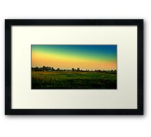 BORN IN THE COUNTRY Framed Print