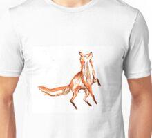 Leaping fox Unisex T-Shirt