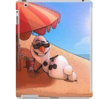 Olaf at the sea iPad Case/Skin