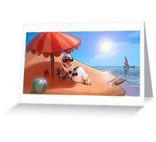 Olaf at the sea Greeting Card