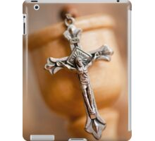Cross on candlestick iPad Case/Skin