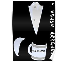 Mr Wolf Poster