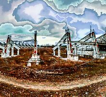 Thrown Stadium by Yevgeni Kacnelson