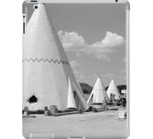 Wigwam Motel, 1940 iPad Case/Skin