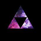 Legend Of Zelda - Triforce Space by Habubita