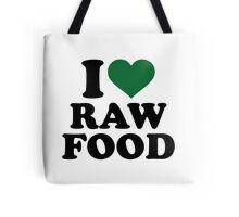 I love raw food Tote Bag
