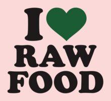 I love raw food One Piece - Long Sleeve
