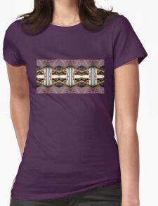 Old Town Stories Art 3 Womens Fitted T-Shirt