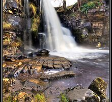 Upper East Gill falls by Shaun Whiteman
