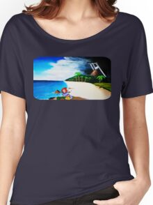 Link's Awakening Washed Ashore  Women's Relaxed Fit T-Shirt