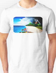 Link's Awakening Washed Ashore  Unisex T-Shirt