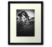 Elephant Gate Framed Print