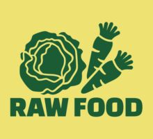 Raw food One Piece - Short Sleeve