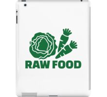 Raw food iPad Case/Skin