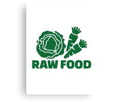 Raw food Canvas Print