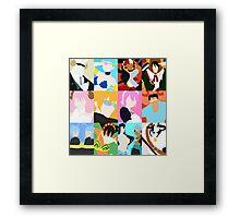 Fairy Tail Zodiac Framed Print